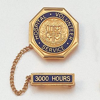 Gold Plated Hospital Pins