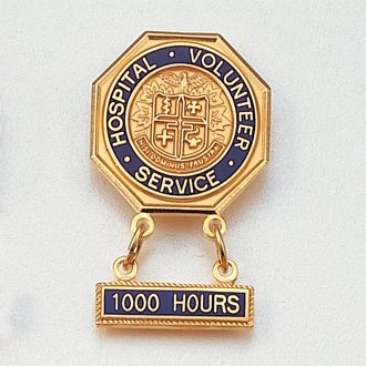 Gold Plated Hospital Pins #101