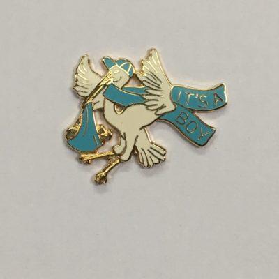 Stork Pin,It's A Boy