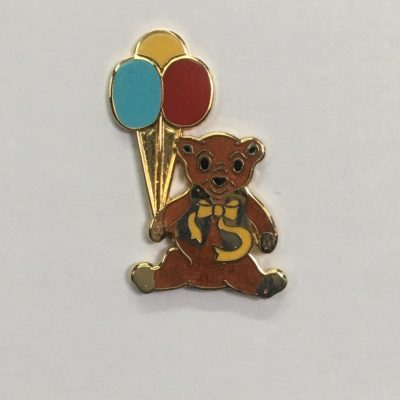 Bear Pin /plain