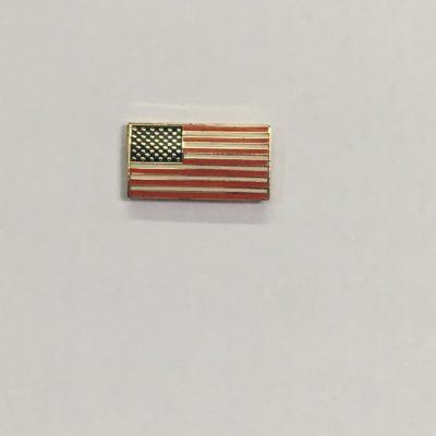 Rectangle Flag Pin