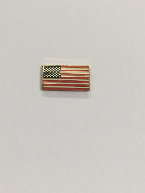 Rectangle Flag Pin